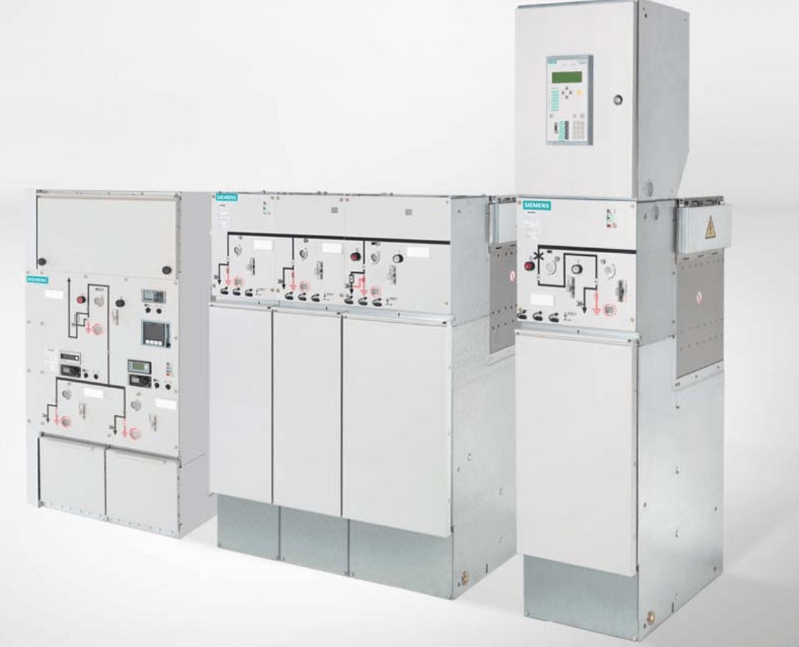 Đại lý Siemens chuyên cung cấp hệ thống tủ điện trung thế RMU