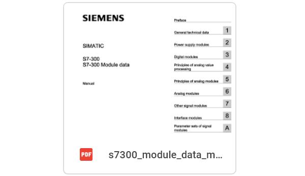 Tài liệu PLC S7 300 Siemens