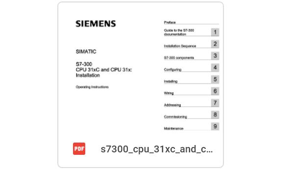 Tài liệu S7 300 Siemens