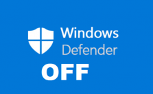 Tắt Windows Defender win 10
