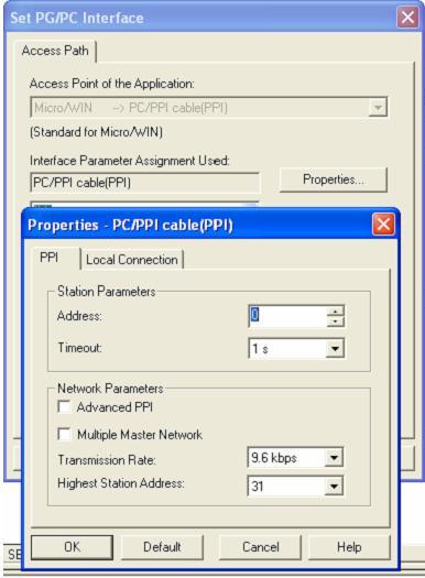 Kết nối PLC S7-200 với máy tính (Bước 2)