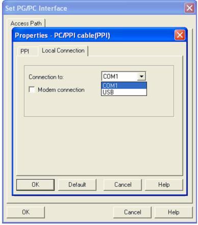 Kết nối PLC S7-200 với máy tính (Bước 3)