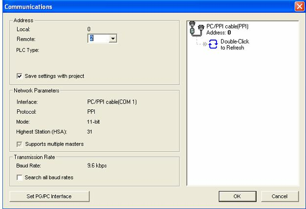 Kết nối PLC S7-200 với máy tính (Bước 4)