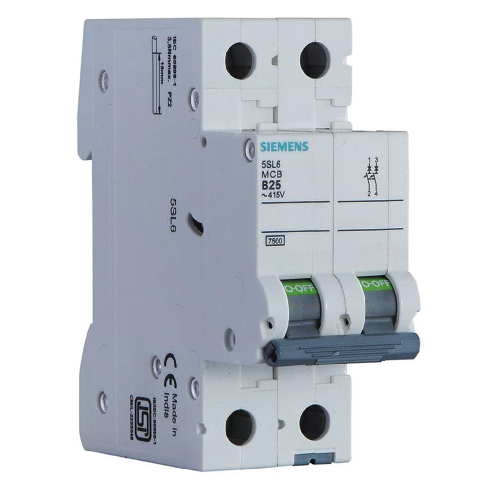 MCB 2P Siemens