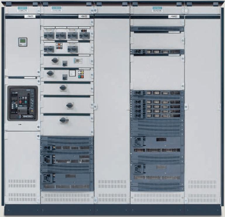 Tủ điện hạ thế Sivacon S8 Siemens