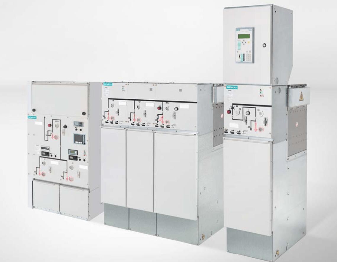 Tủ điện trung thế RMU Siemens 8DJH
