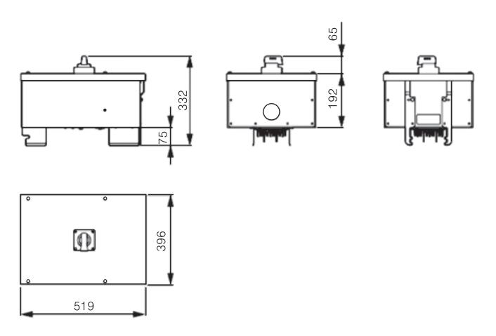 Tap off Box Size 1 - Busway LX Siemens