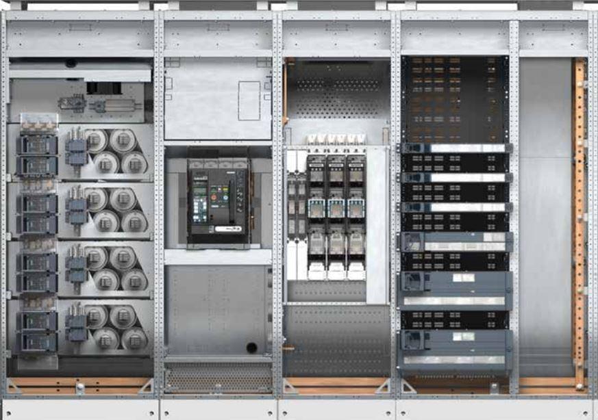 Cấu tạo tủ điện công nghiệp Siemens Alpha