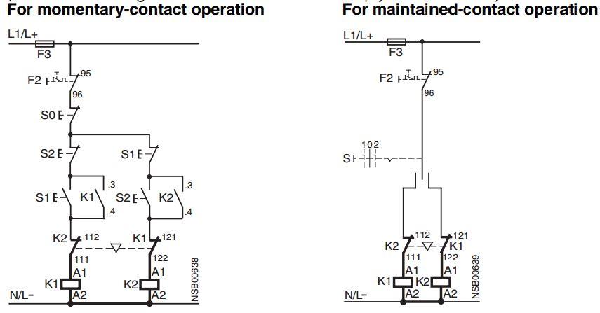 Mạch điều khiển contactor 3 pha thực tế