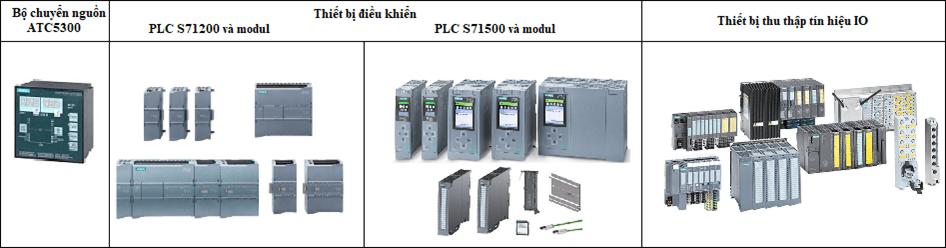 Thiết bị điều khiển trong hệ thống PMS Siemens