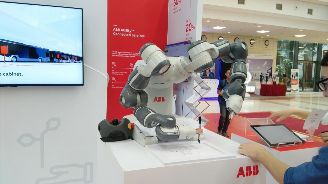 ABB tại triển lãm Quốc tế về công nghiệp 4.0 năm 2019