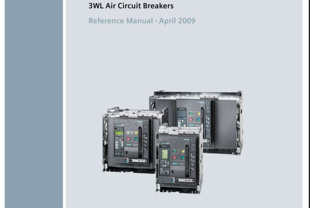 ACB Sentron 3WL Siemens