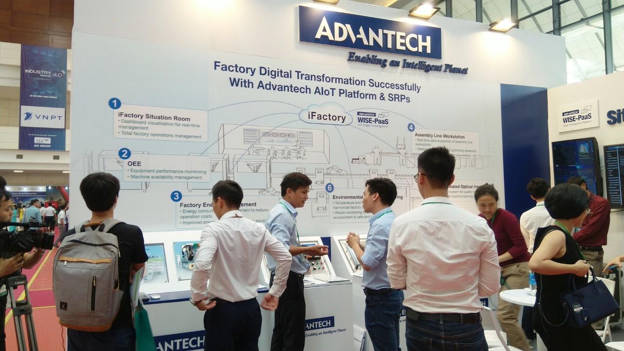 Advantech tại triển lãm Quốc tế về công nghiệp 4.0 năm 2019
