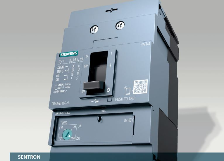 MCCB 3VM Siemens