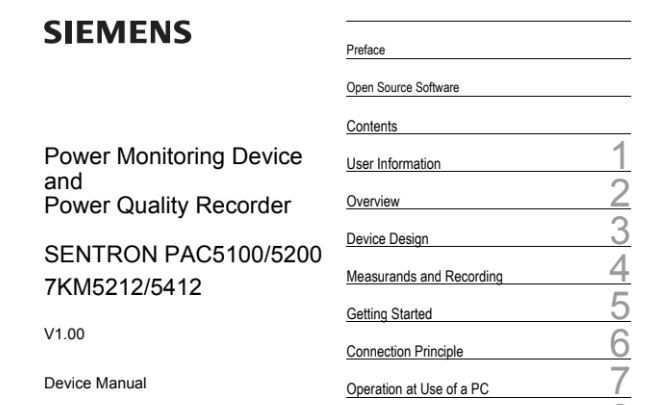 PAC5100 PAC5200 manual