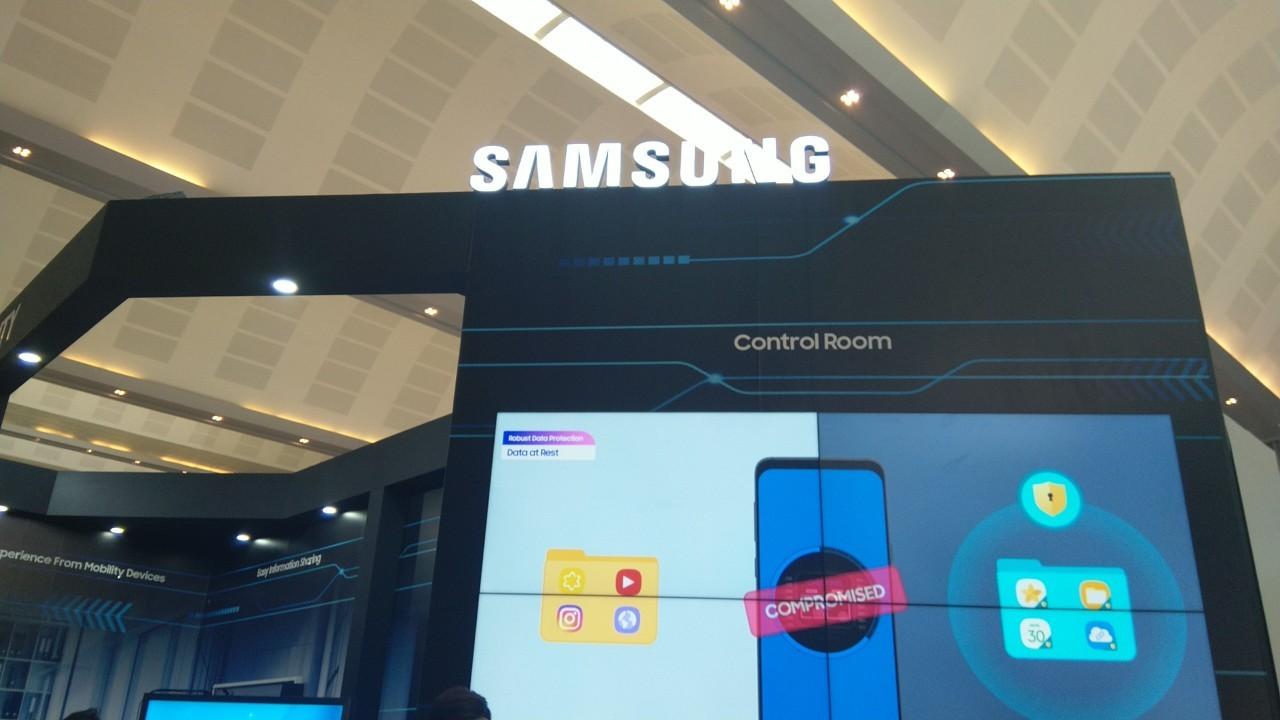Samsung tại triển lãm Quốc tế về công nghiệp 4.0 năm 2019