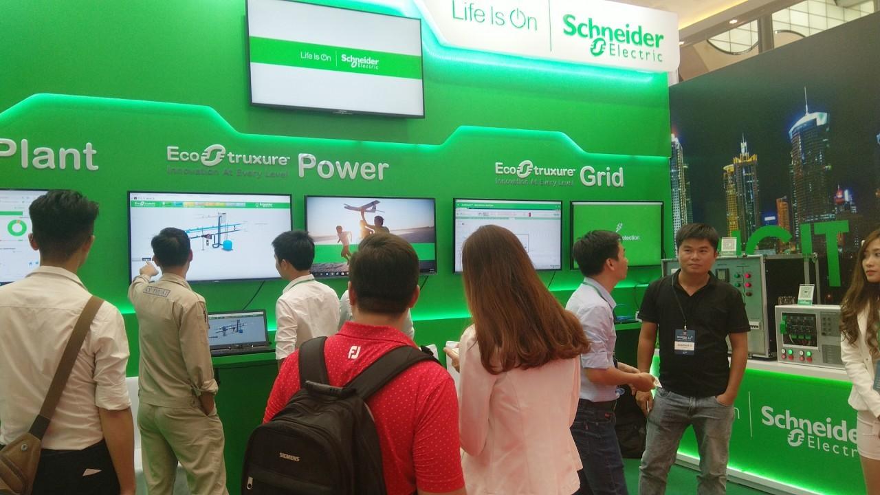 Schneider Electric tại triển lãm Quốc tế về công nghiệp 4.0 năm 2019