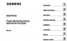 Sentron 7KM PAC 3200 manual