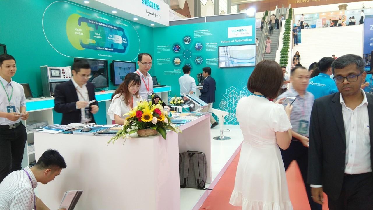 Siemens tại triển lãm Quốc tế về công nghiệp 4.0 năm 2019