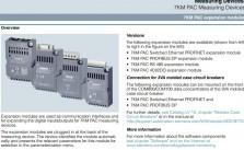 Tài liệu module 7KM PAC manual pdf Sentron Siemens