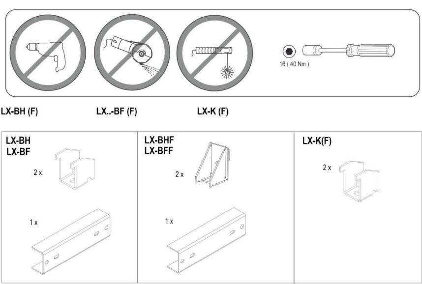 Tài liệu phụ kiện trục ngang busway Sivacon 8PS LX