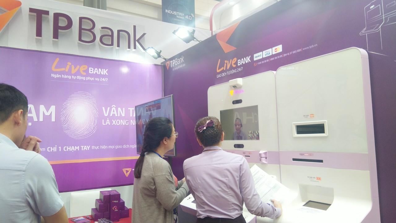 TPbank tại triển lãm Quốc tế về công nghiệp 4.0 năm 2019