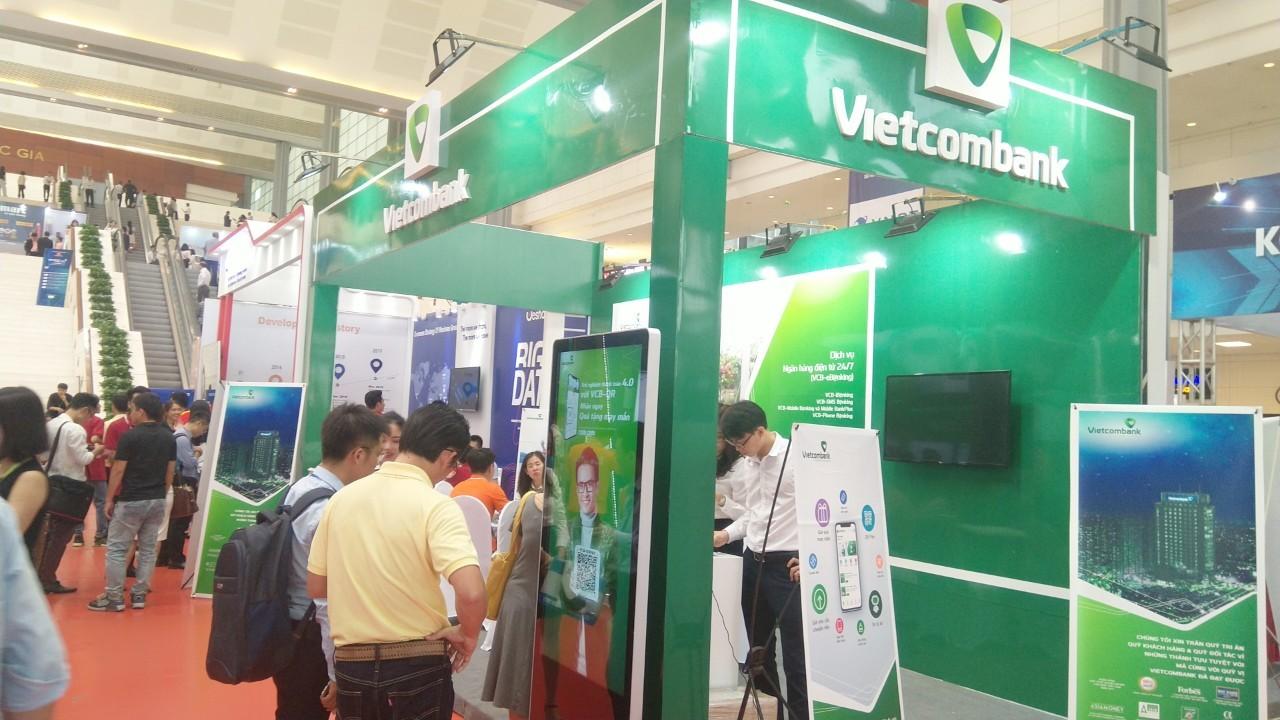 Vietcombank tại triển lãm Quốc tế về công nghiệp 4.0 năm 2019Vietcombank tại triển lãm Quốc tế về công nghiệp 4.0 năm 2019