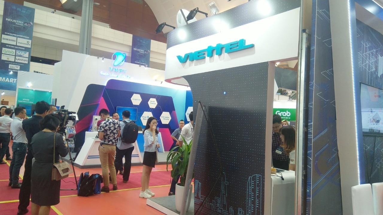 Viettel tại triển lãm Quốc tế về công nghiệp 4.0 năm 2019