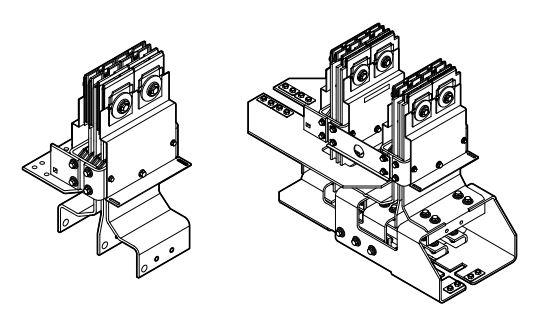 Flanged end Busway switchgear connection - Đầu nối tủ Siemens chuyên dụng