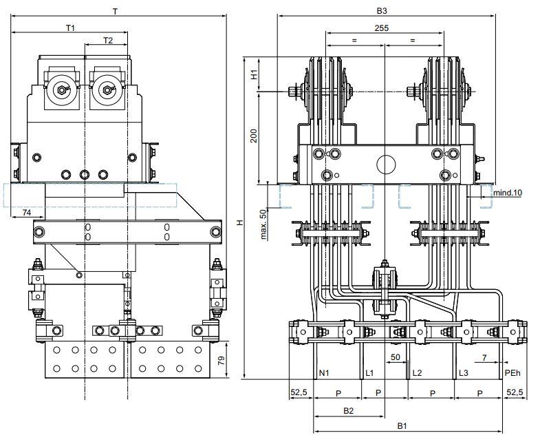 Kích thước một số loại Flanged end LI Siemens