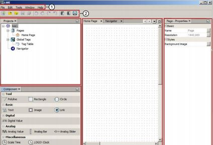Phần mềm Logo web editor Siemens
