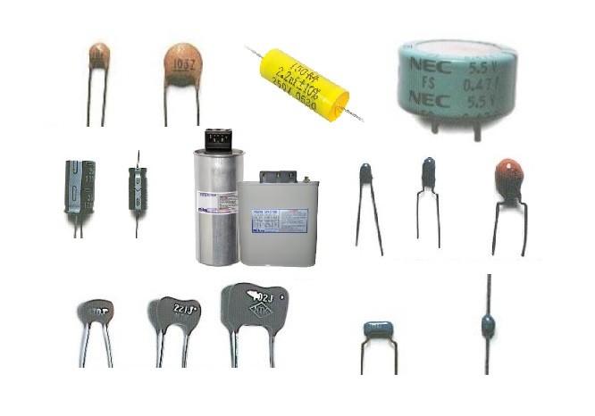 Tụ điện có trị số điện dung cố định