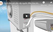 Cách lắp đặt điều hòa máy lạnh