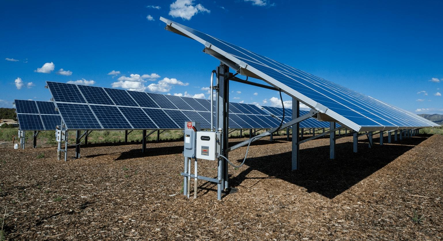 Nhà máy điện mặt trời - ứng dụng PIN MT