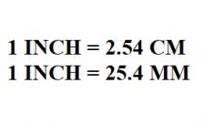 Quy đổi inch sang cm - mm