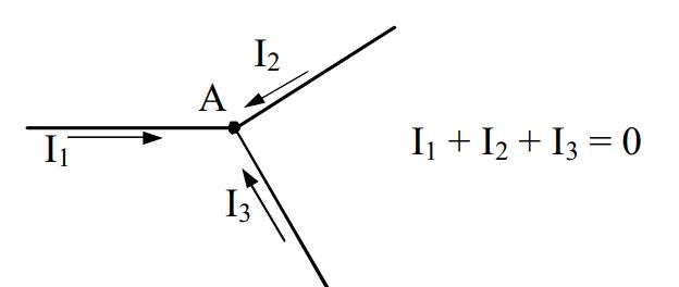 Ví dụ 1 định luật Kirchhoff 1