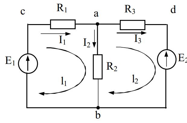 Ví dụ kết hợp định luật Kirchhoff 1 và 2