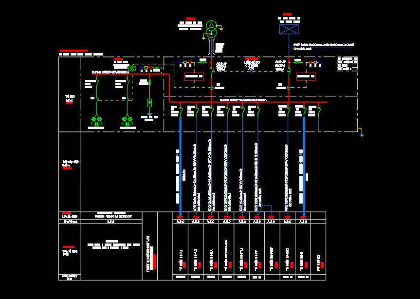 Bản vẽ ME tòa nhà - nhà máy
