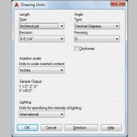 Thiết lập kích thước bản vẽ CAD