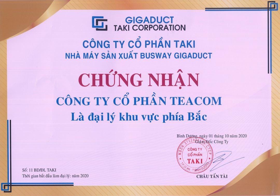 Đại lý Busway Gigaduct Việt Nam khu vực phía Bắc