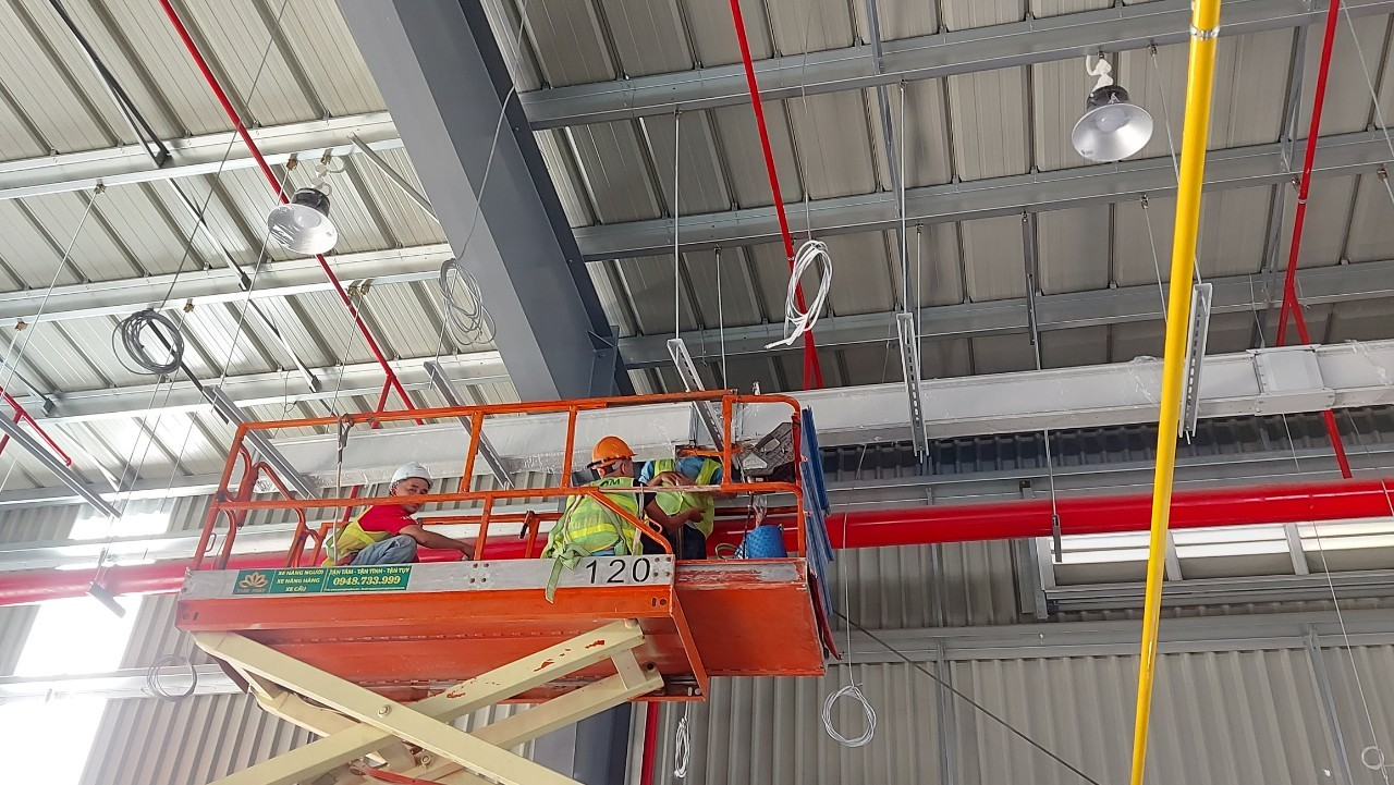 Busway dự án nhà máy VHG Home - Thi công 2