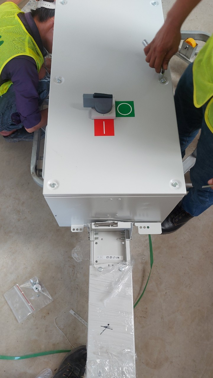 Lắp đặt TOB - Nhà máy VHG