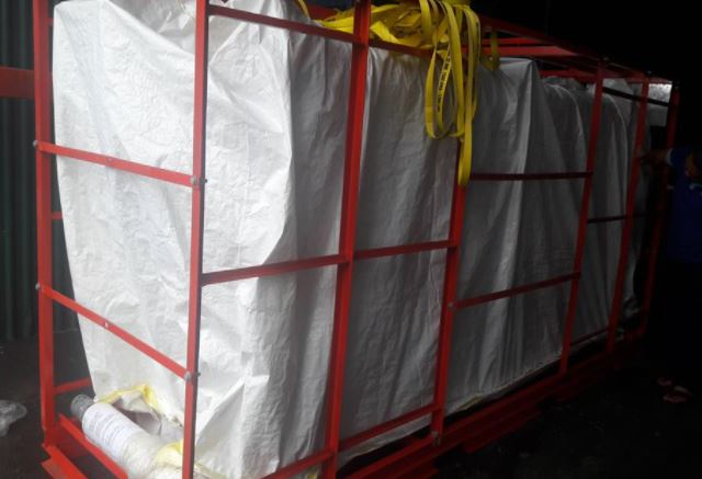 Vận chuyển máy cắt cao thế dự án nhà máy Vicem Hoàng Thạch